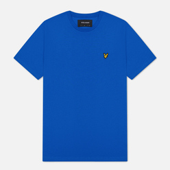 Мужская футболка Lyle & Scott Plain Crew Neck Bright Cobalt