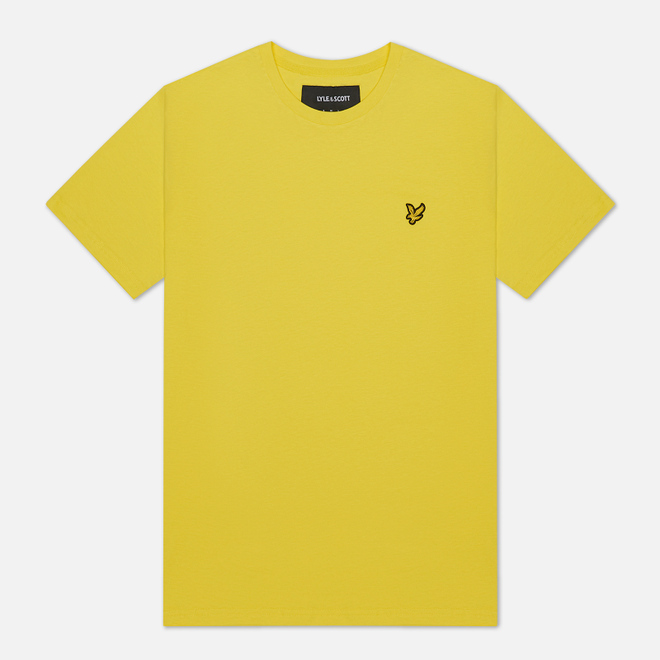 Мужская футболка Lyle & Scott Plain Crew Neck Buttercup Yellow
