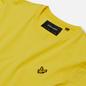 Мужская футболка Lyle & Scott Plain Crew Neck Buttercup Yellow фото - 1