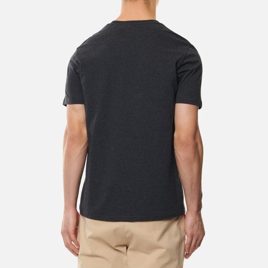 Мужская футболка Lyle & Scott Plain Crew Neck Charcoal Marl