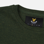 Мужская футболка Lyle & Scott Plain Crew Neck Dark Sage Marl фото- 1