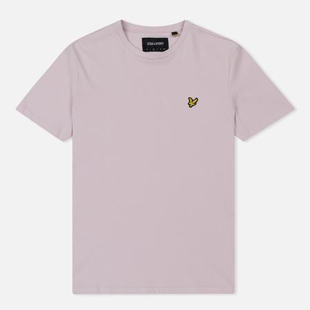 Мужская футболка Lyle & Scott Plain Crew Neck Dusky Lilac