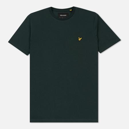 Мужская футболка Lyle & Scott Plain Crew Neck Forest Green
