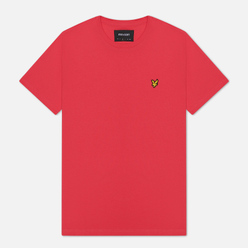 Мужская футболка Lyle & Scott Plain Crew Neck Geranium Pink