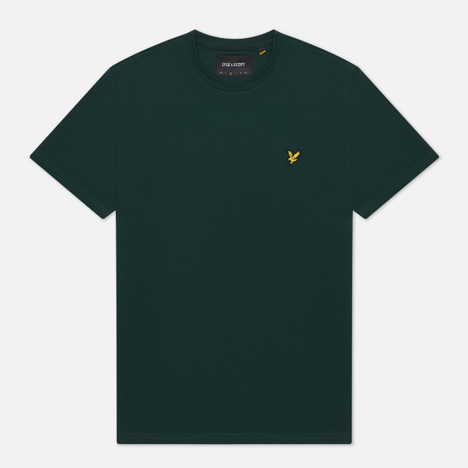 Мужская футболка Lyle & Scott Plain Crew Neck Jade Green