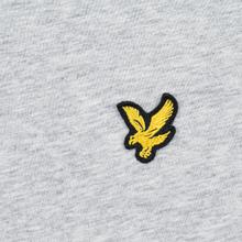 Мужская футболка Lyle & Scott Plain Crew Neck Light Grey Marl фото- 2