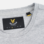 Мужская футболка Lyle & Scott Plain Crew Neck Light Grey Marl фото- 3