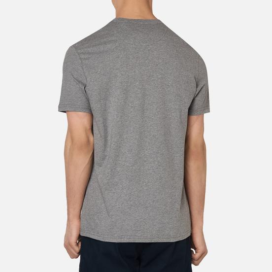 Мужская футболка Lyle & Scott Plain Crew Neck Mid Grey Marl