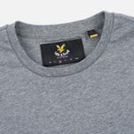 Мужская футболка Lyle & Scott Plain Crew Neck Mid Grey Marl фото- 1