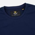 Мужская футболка Lyle & Scott Plain Crew Neck Navy фото- 1