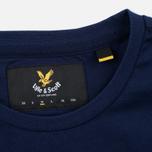 Мужская футболка Lyle & Scott Plain Crew Neck Navy фото- 3