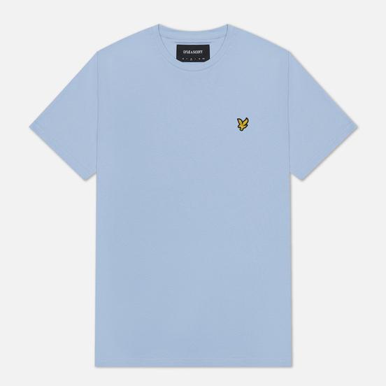 Мужская футболка Lyle & Scott Plain Crew Neck Pool Blue