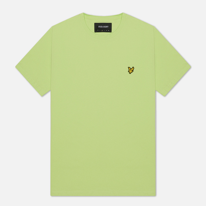 Мужская футболка Lyle & Scott Plain Crew Neck Sharp Green