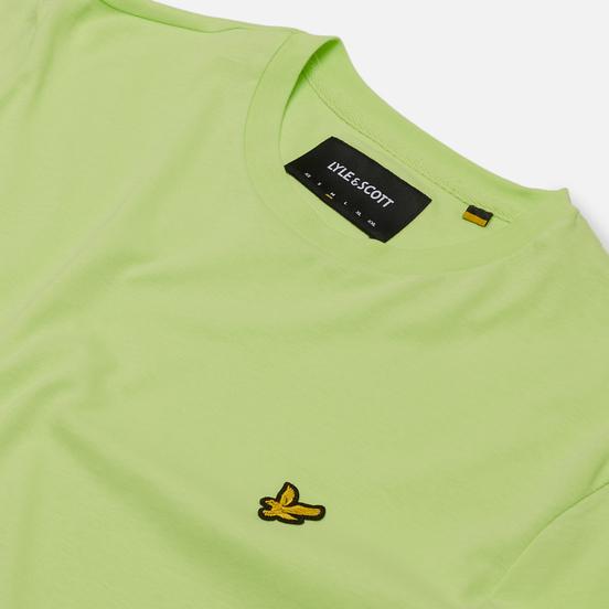 Мужская футболка Lyle & Scott Plain Crew Neck Sharp Green