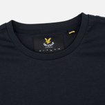 Мужская футболка Lyle & Scott Plain Crew Neck True Black фото- 1