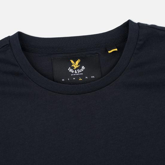 Мужская футболка Lyle & Scott Plain Crew Neck True Black