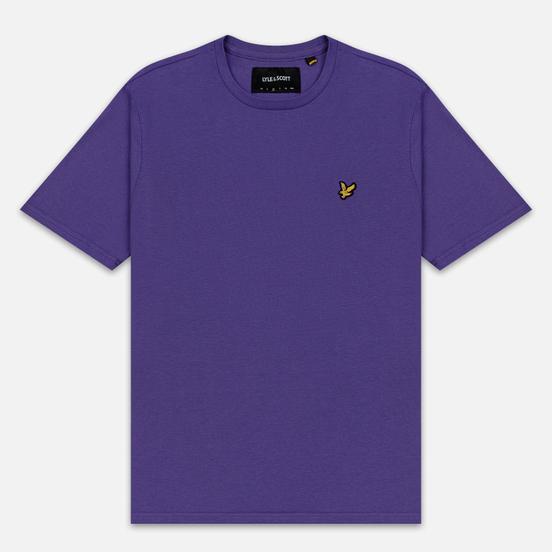 Мужская футболка Lyle & Scott Plain Crew Neck Violet