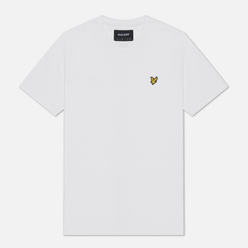 Мужская футболка Lyle & Scott Plain Crew Neck White