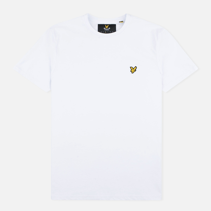 Мужская футболка Lyle & Scott Plain Crew Neck White