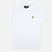 Мужская футболка Lyle & Scott Plain Crew Neck White фото- 0