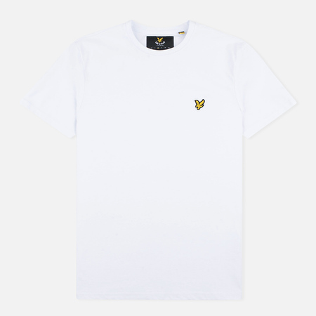 Lyle & Scott Plain Crew Neck Men's T-shirt White