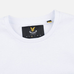 Мужская футболка Lyle & Scott Plain Crew Neck White фото- 1