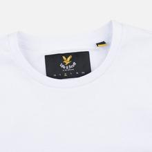 Мужская футболка Lyle & Scott Plain Crew Neck White фото- 1