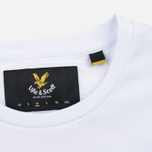 Мужская футболка Lyle & Scott Plain Crew Neck White фото- 3