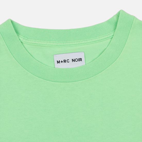 Мужская футболка M+RC Noir S.A.D Ripped Neon Green