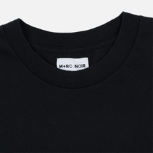 Мужская футболка M+RC Noir S.A.D Ripped Logo Black фото- 1