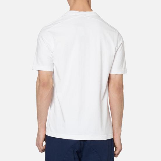 Мужская футболка MA.Strum Garment Dyed Logo Optic White