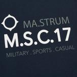 Мужская футболка MA.Strum Giatsint SS M.S.C. 17 Front Logo Dark Navy фото- 2