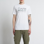 Мужская футболка MA.Strum Giatsint SS M.S.C. 17 Front Logo Optic White фото- 3