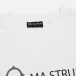 Мужская футболка MA.Strum Giatsint SS M.S.C. 17 Front Logo Optic White фото- 1