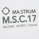 Мужская футболка MA.Strum Giatsint SS M.S.C. 17 Front Logo Optic White фото- 2