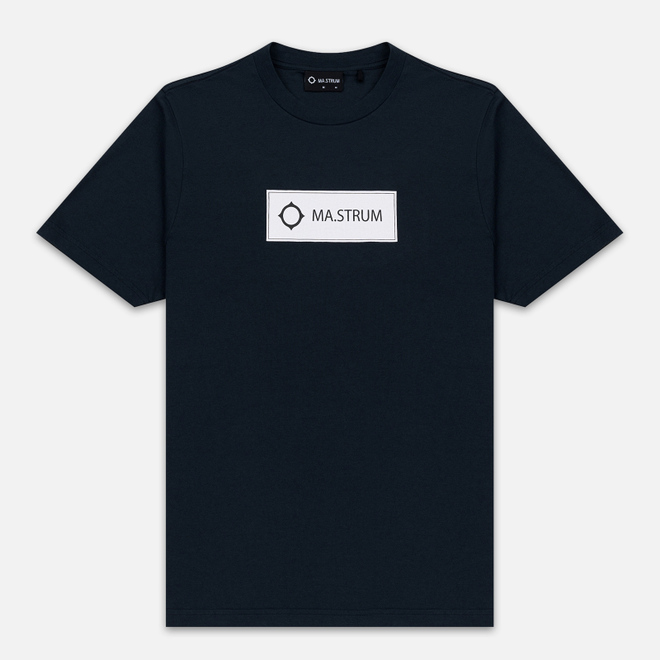 Мужская футболка MA.Strum Icon Box Logo Dark Navy