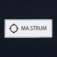 Мужская футболка MA.Strum Icon Box Logo Dark Navy фото- 1