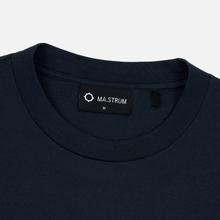 Мужская футболка MA.Strum Icon Box Logo Dark Navy фото- 3