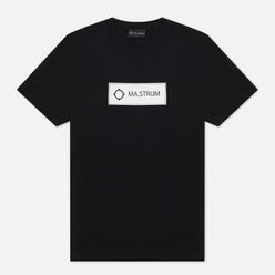 Мужская футболка MA.Strum Icon Box Logo Jet Black