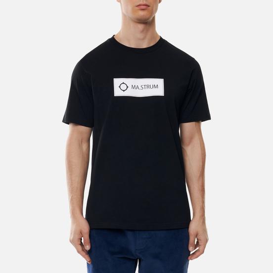 Мужская футболка MA.Strum Icon Box Logo Jet Black
