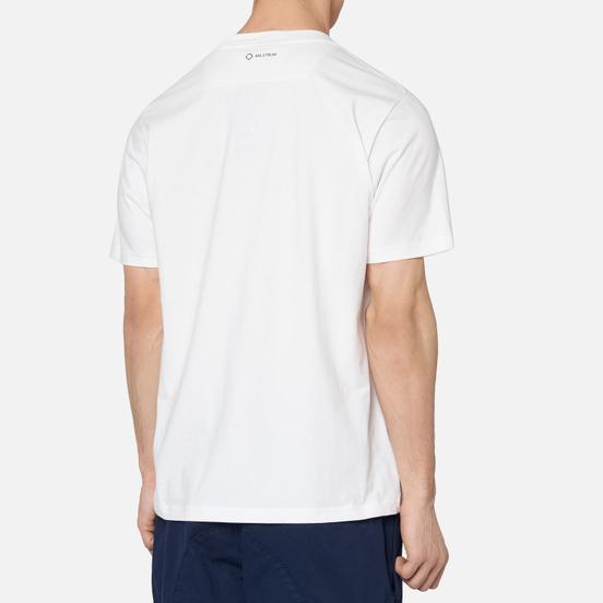 Мужская футболка MA.Strum Icon Box Logo Optic White