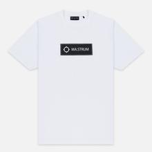 Мужская футболка MA.Strum Icon Box Logo Optic White фото- 0