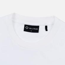 Мужская футболка MA.Strum Icon Box Logo Optic White фото- 1