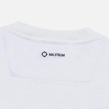 Мужская футболка MA.Strum Icon Box Logo Optic White фото- 2