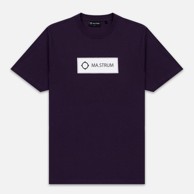 Мужская футболка MA.Strum Icon Box Logo Phonician