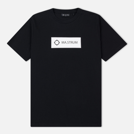 Мужская футболка MA.Strum Icon Box Logo Regular Jet Black