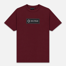 Мужская футболка MA.Strum Icon Box Logo Spartan Red фото- 0