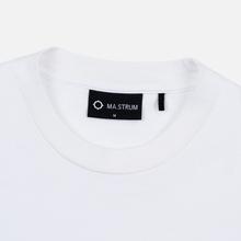 Мужская футболка MA.Strum Icon Optic White фото- 1