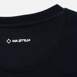 Мужская футболка MA.Strum Logo Embroidered Dark Navy фото- 3