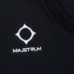 Мужская футболка MA.Strum Logo Embroidered Jet Black фото- 2